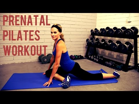 20 Minute Prenatal Pilates Workout