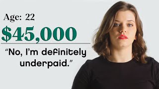 Women with Different Salaries on if Money Makes Them Happy   Glamour