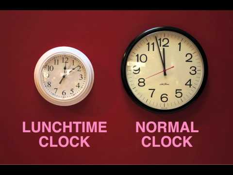 Become An Office Hero By Making One Of These Time-Bending, Lunch-Lengthening Clocks