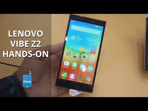 Lenovo Vibe Z2 Hands-on