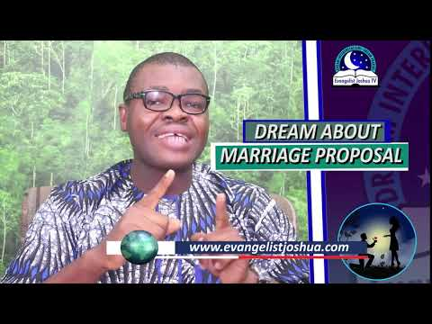 DREAM OF MARRIAGE PROPOSAL - Find Out The Biblical Dream Meaning