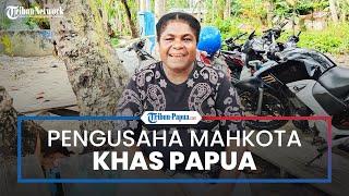 Petronela Meraudje, Pengusaha Mahkota Khas Papua yang Sukses Jadi Agen BRILink di Jayapura
