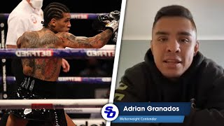 ADRIAN GRANADOS on CONOR BENN: 'I possess TOOLS HE'S NEVER FACED BEFORE!'