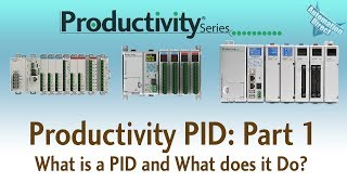 Productivity PID Loop - Part 1 - What Is a PID and What Does It Do?