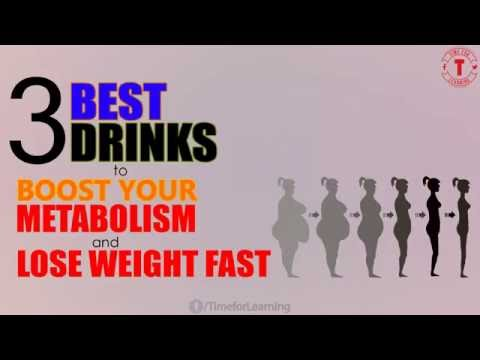 Video 3 Best Drinks To Boost Your Metabolism And Lose Weight Fast!