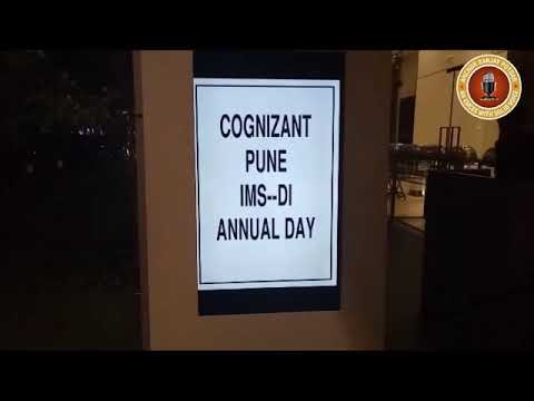 Anchor Sanjay Hosting Cognizant Annual Day