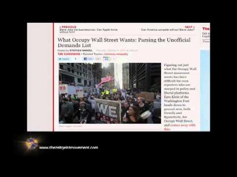 Peter Joseph:  Message to Occupy Wall Street & The World | The Zeitgeist Movement