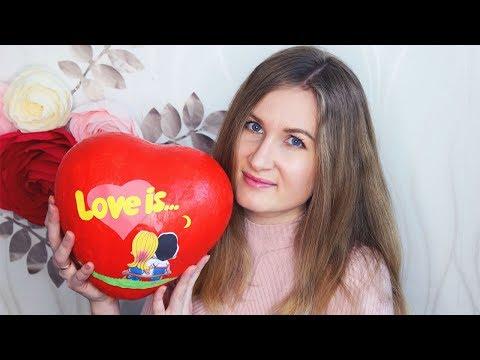 МАСТЕР-КЛАСС Сердце LOVE IS папье маше своими руками | Сладкий подарок на 14 февраля
