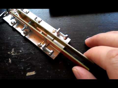 Homebrew Morse Key, Paddles  - смотреть онлайн на Hah Life