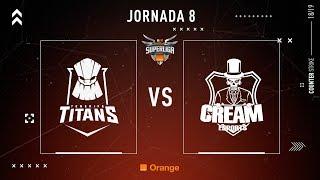 Tenerife Titans E.C. VS Cream Esports   Jornada 8   Temporada 2018/2019