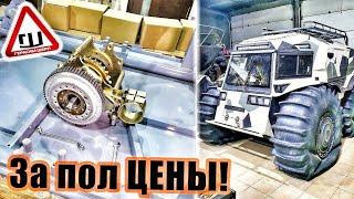 Сборка вездехода БАСТАРД. Покупаем инструмент, собираем бортовое. ч2
