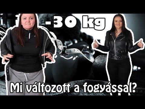 35 kg fogyás