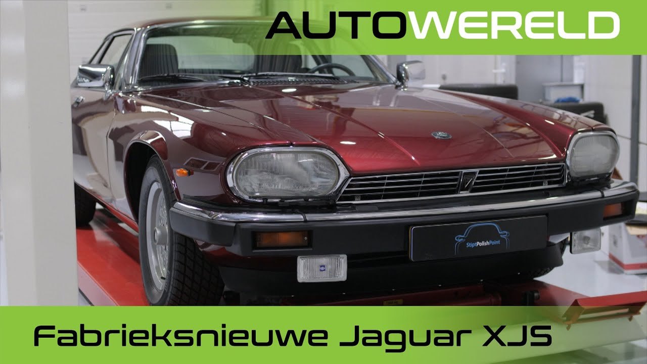 Een fabrieksnieuwe Jaguar XJS | Stipt Polish Point