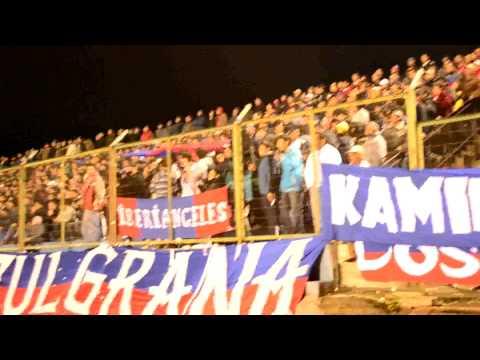 """Banda azulgrana - abril 2011"" Barra: Banda Azulgrana • Club: Deportes Iberia"