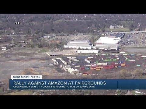 Community group rallying against Amazon distribution center
