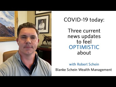 COVID-19 today: Three current news updates to feel optimistic about.