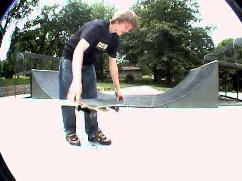 Skateboarding Blair NE 2007