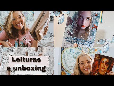 VLOG DE LEITURA #9 | Unboxing de livros , conversando sobre polêmicas e finalizando série ?