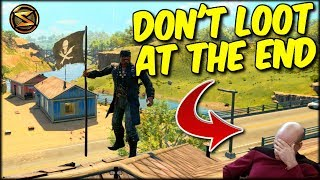 NEVER LOOT AT THE END OF THE GAME... HERE'S WHY!! COD BO4 BLACKOUT SOLO GAME!