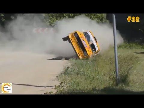 อุบัติเหตุรถแข่งแรลลี่ พลาดสุดโหด เร็ว แรง อันตราย #32