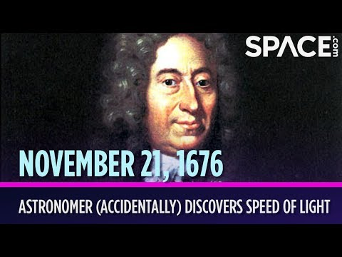 OTD in Space – Nov. 21: Astronomer (Accidentally) Discovers Speed of Light