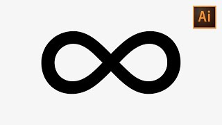 Learn How To Quickly Create An Infinity Symbol In Adobe Illustrator | Dansky