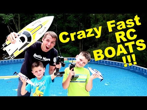 OUT OF CONTROL RC BOAT ACTION! lesson learned…..