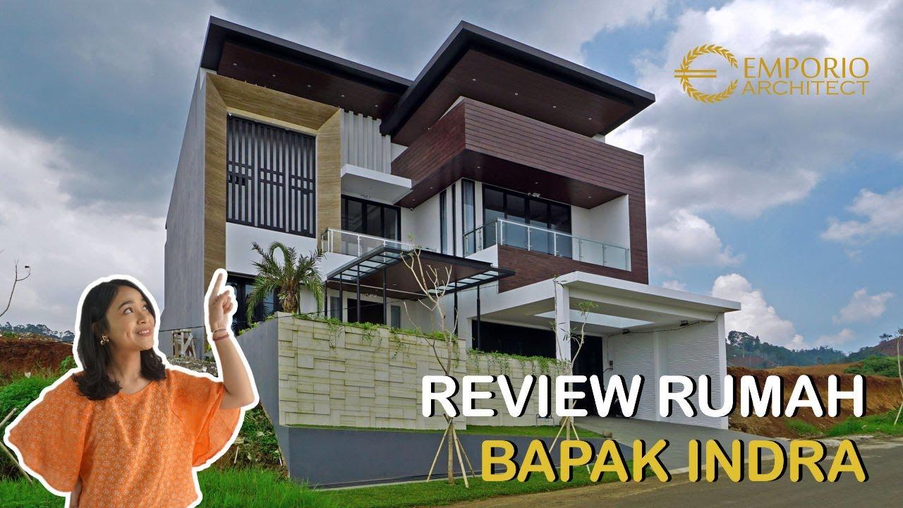 Video Hasil Konstruksi Desain Rumah Modern 2 Lantai Bapak Indra - Bandung