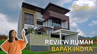 Video Construction Results Mr. Indra Modern House 2 Floors Design - Bandung