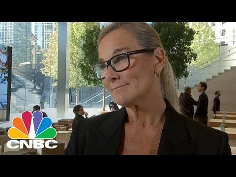 Apple Retail Chief Angela Ahrendts: We Will Not Upsell Customers To The iPhone X | CNBC