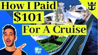 How I Booked A 6 Night Royal Caribbean Cruise For $101