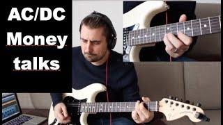 AC/DC Moneytalks Guitar lesson - Tutorial How To Play