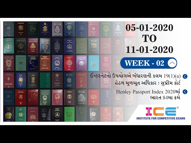 ICE CURRENT NEWS 5th January 2020 TO 11th January 2020