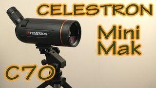 Распаковка Celestron Mini Mak C70