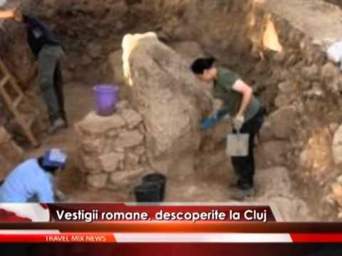 Vestigii romane, descoperite la Cluj – VIDEO