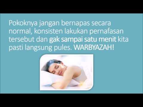 Video Cara Cepat Tidur dalam 1 Menit