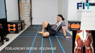 Pośladkowy śerdni – rolowanie – ROL004