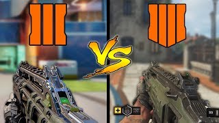 Black Ops 3 Vs Black Ops 4 – Weapons Comparison