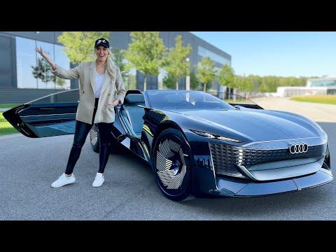 アウディが考える近未来の車「Audi Skysphere」の試乗動画