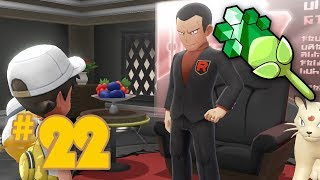 Let's Play Pokemon: Let's Go Pikachu & Eevee - Part 22 - Viridian Gym Leader Giovanni