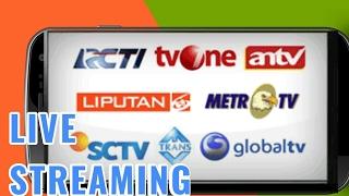 Download Video Cara Live Streaming TV Lokal/Internasional di Android Tanpa Aplikasi Tambahan MP3 3GP MP4