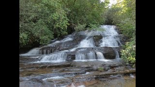Pigpen and Licklog Falls -  Mountain Rest, SC