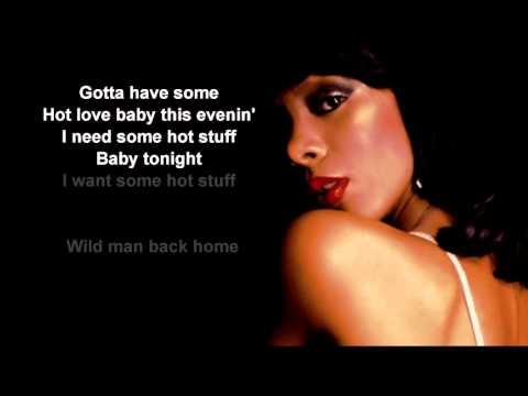 Hot Stuff + Donna Summer + Lyrics