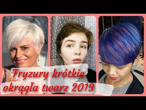 Krótkie Fryzury Dla Okrągłej Twarz Damskiej игровое видео
