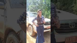 preview picture of video 'Masih sisa perjalanan dari Desa Sabuh menuju Muara teweh (mutmut & Indah Queen)'