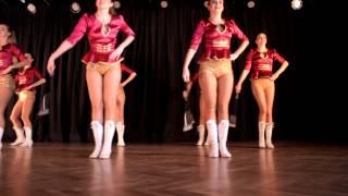 TOSCA majorette choreography