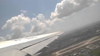 UT-9012, Boeing-767, взлет, Анталия. 2015.06.28 11-05