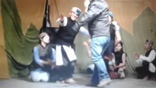Pahadi nati performed at amboya drama