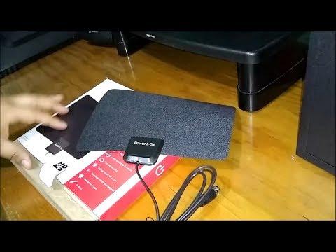 ¿Funcionan las antenas cuadradas HDTV para interiores? RESULTADO TDT