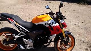 Instalación Actual De Audio Parlantes Amplificador Para Moto CB190R Honda